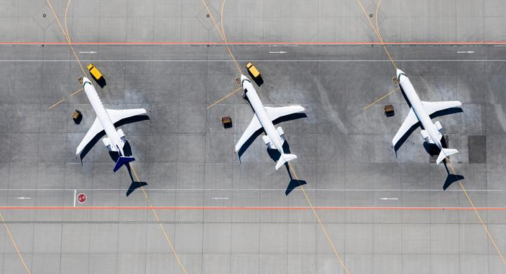 top airports to fly into - planes on tarmac