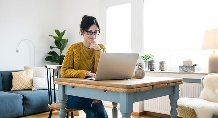 stay productive working from home with these tips