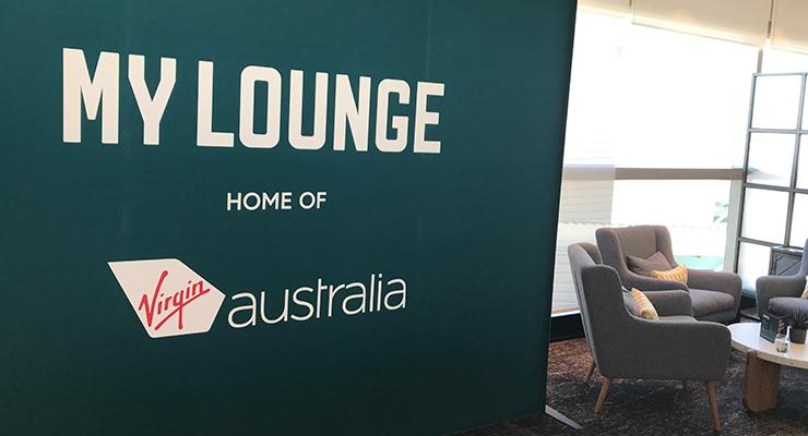BNE VA International Lounge entry