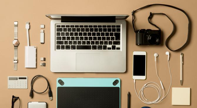 Productivity travelling for work - business tech