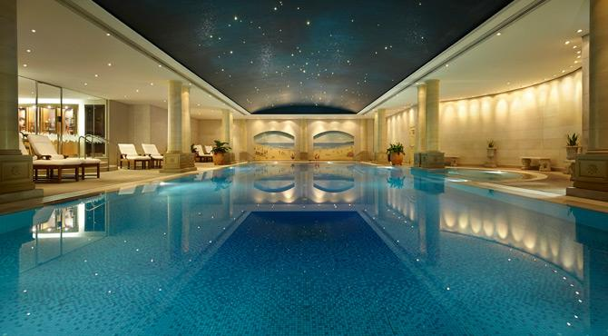 Pool at The Langham for Business travellers