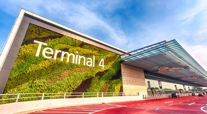 top airports to fly to - Changi Terminal 4